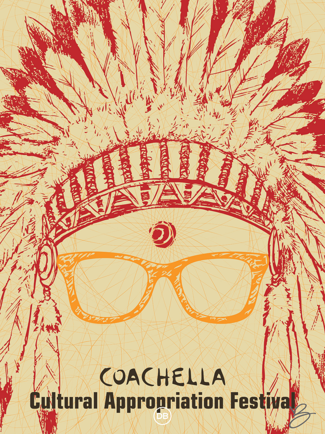 David Bernie Bindi Headdress Cultural Appropriation Coachella Indian Country 52 Week 15