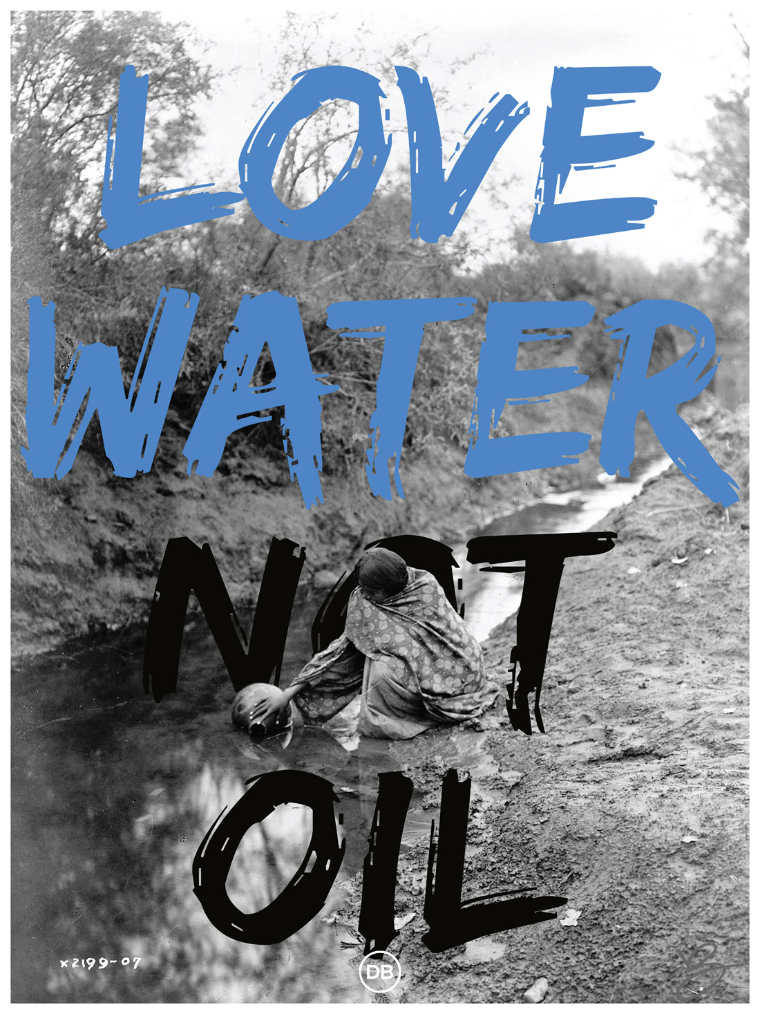 David Bernie Love Water not Oil Indian Country 52 Week 33