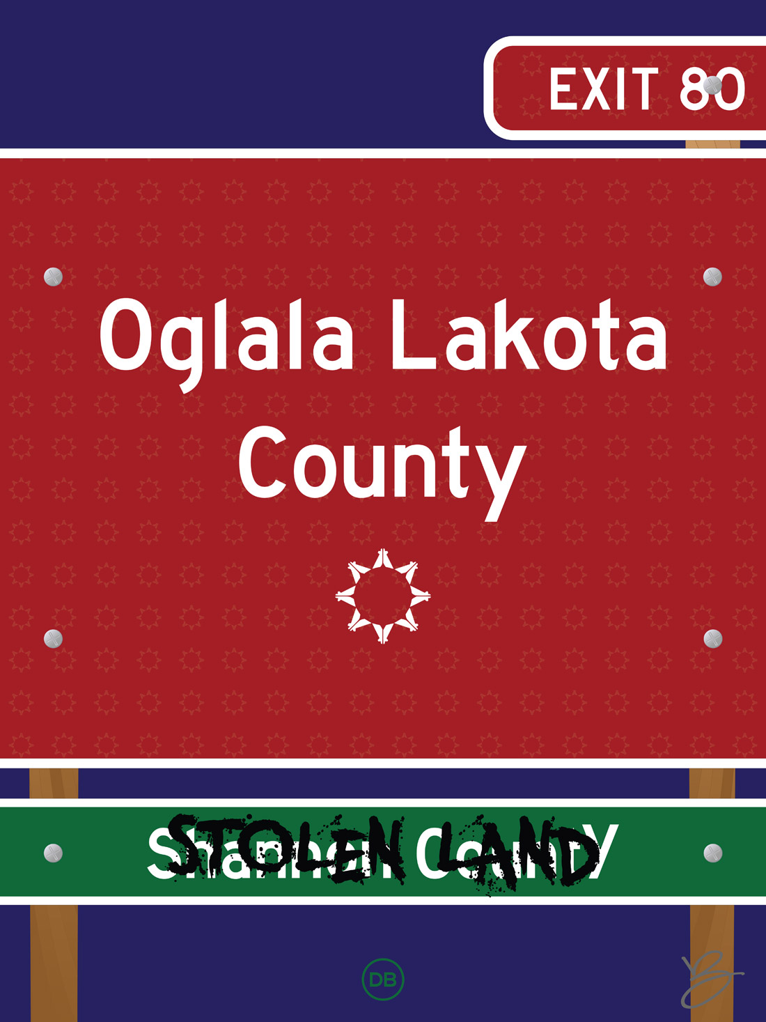 David Bernie Oglala Lakota County Indian Country 52 Week 45