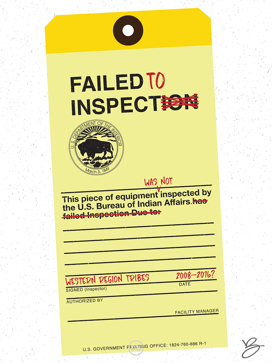 David Bernie BIA Failed to Inspect Indian Country 52 17