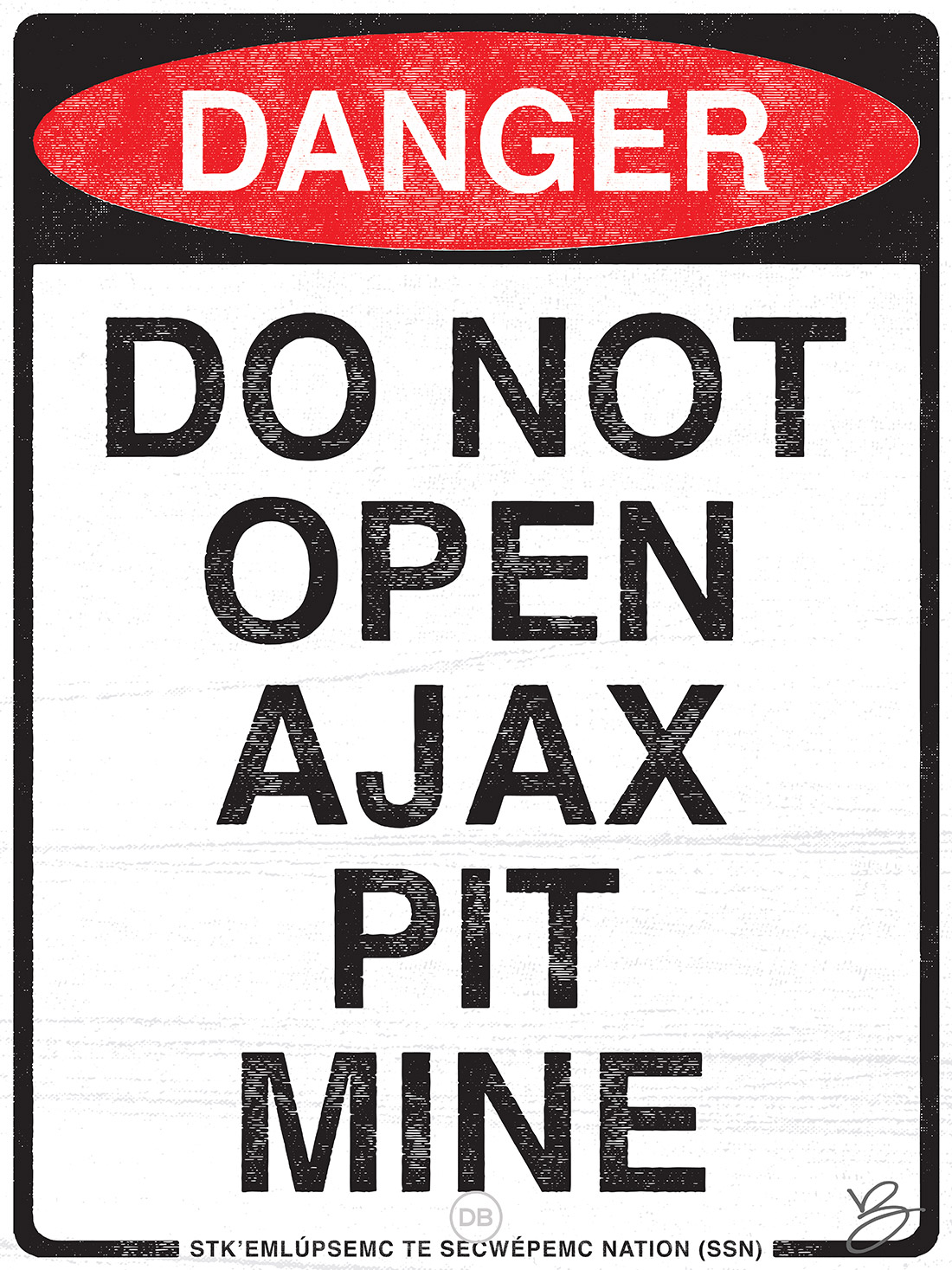 David Bernie Do not open Ajax Mine Kamloops Indian Country 52 14