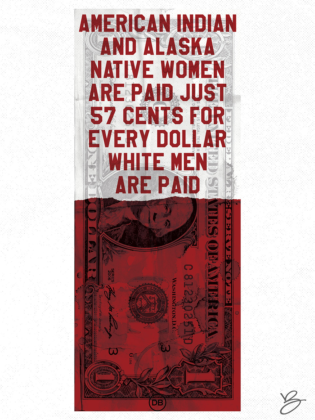David Bernie Indian Country 52 39 Unequal Pay Native American Women