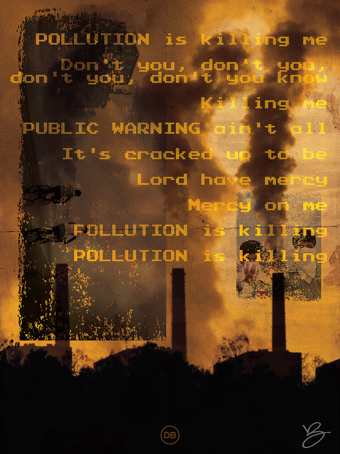 David Bernie Indian Country 52 44 Pollution is Killing Me