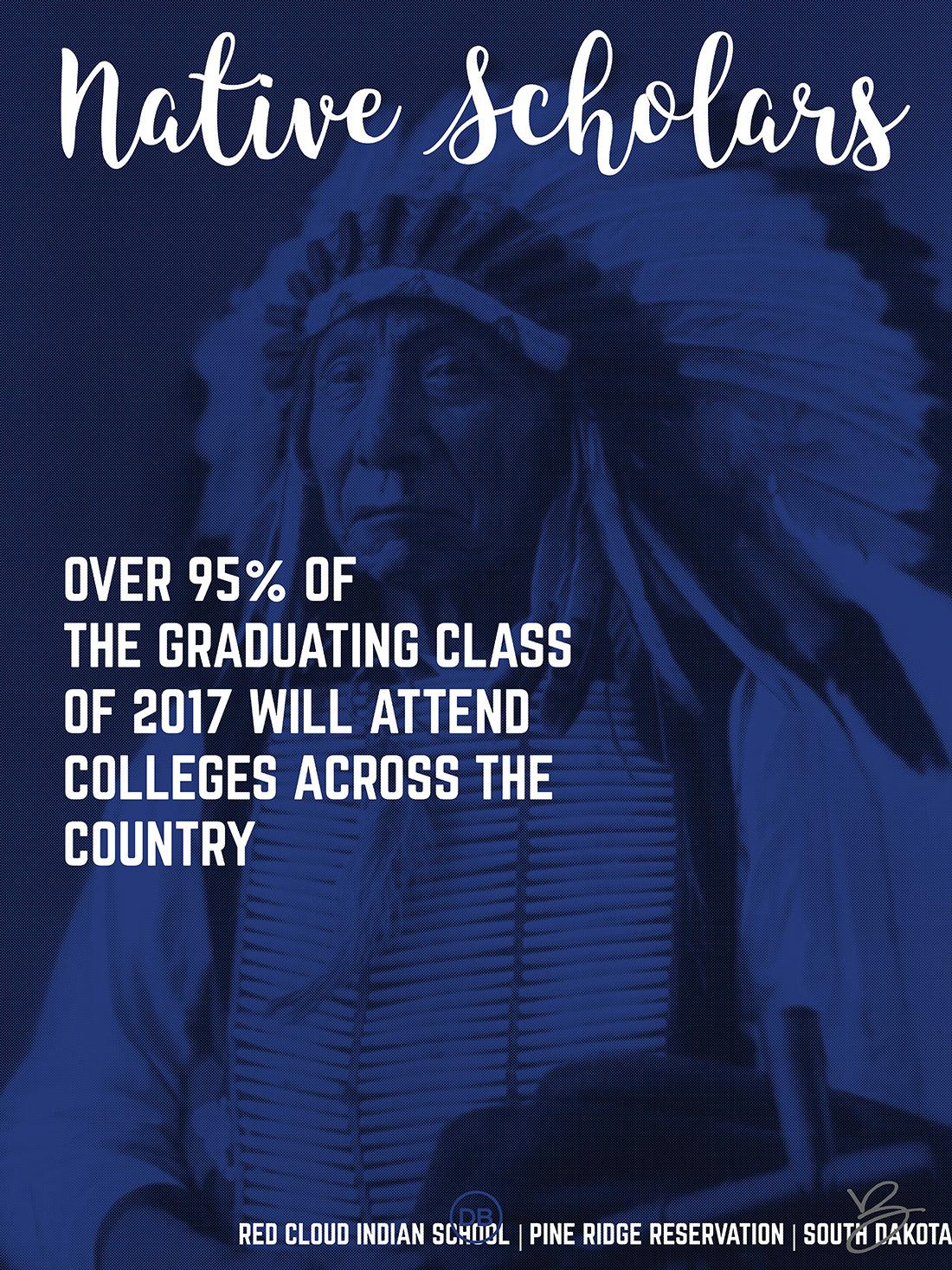 David Bernie Indian Country 52 34 Native Scholars Red Cloud Indian School