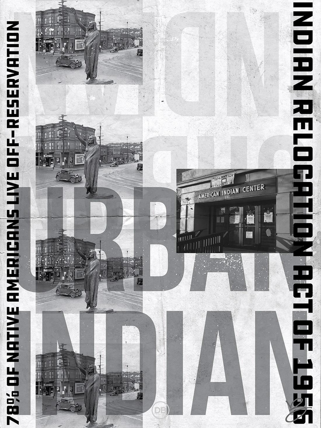 David Bernie Indian Country 52 37 Urban Indians